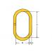 Звено тип NOR для 1-и 2 ветвевых строп (DIN 5688)