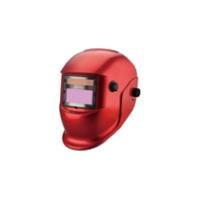 Маска сварщика с АСФ - MEGA-350D (red) красная
