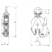 Захваты для металла - вертикальный подъём тип DSQ